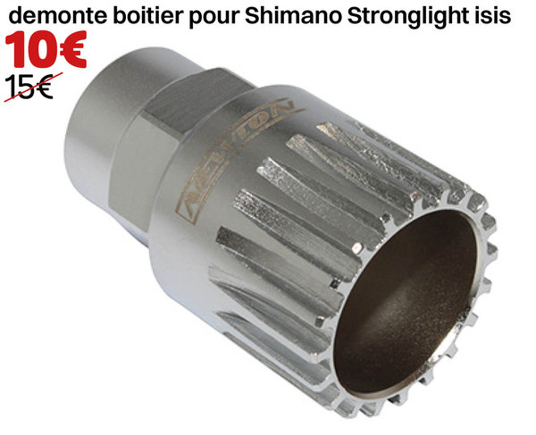 démonte boitier pour Shimano Stronglight isis