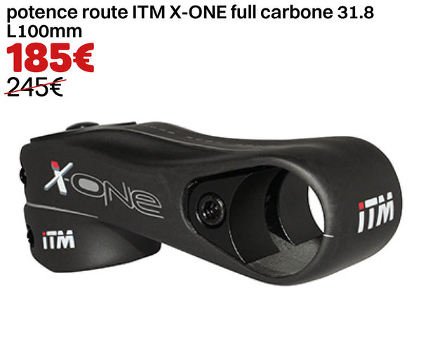 potence route ITM X-ONE full carbone 31.8 L100mm