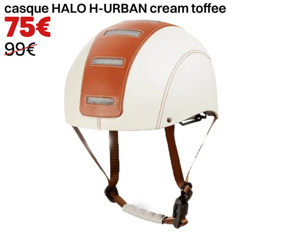 casque HALO H-URBAN cream toffee