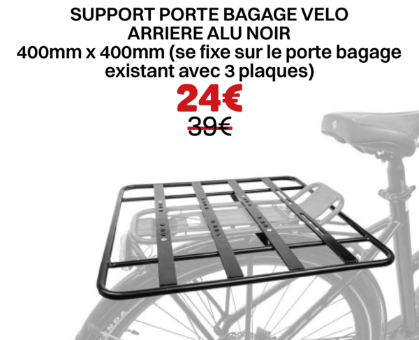SUPPORT PORTE BAGAGE