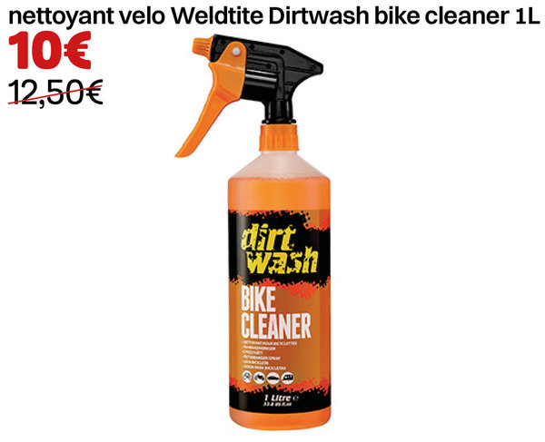 nettoyant velo Weldtite Dirtwash bike cleaner 1L